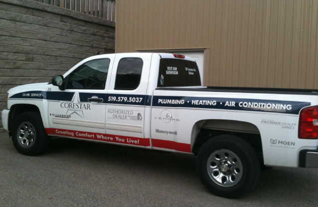Corestar Service Pick Up Truck